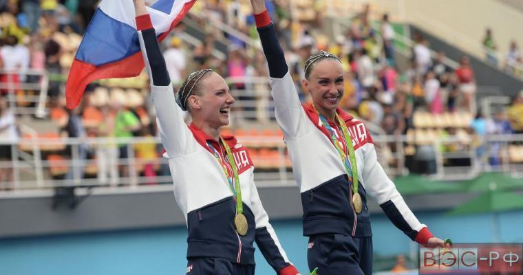 Россия завоевала золото в синхронном плавании