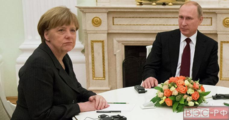 Путин предупредил Меркель