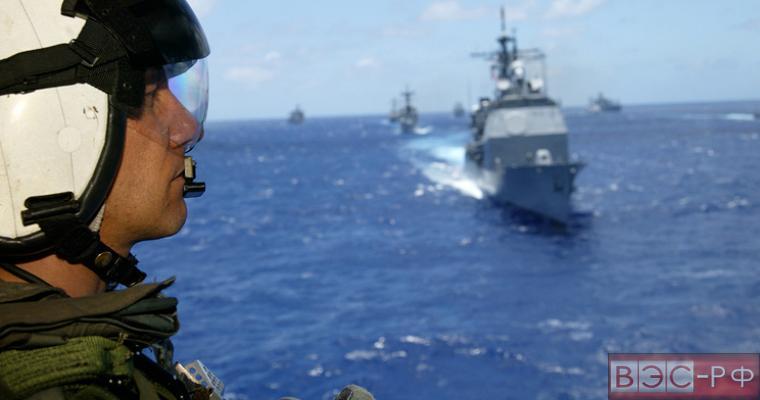 Российский корабль поучаствовал в американских учениях