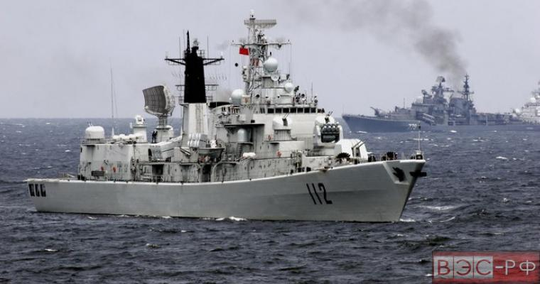 Боевые корабли Китая подошли к берегам США