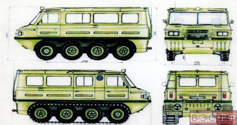алтайский вездеход «Буйвол-2»