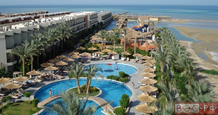 вид египетского курорта