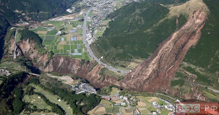 Землетрясение в Японии 2016, разрушения, жертвы