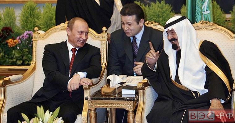 Нефтяное фиаско Америки: новый совместный проект РФ и Саудовской Аравии оставил США не у дел