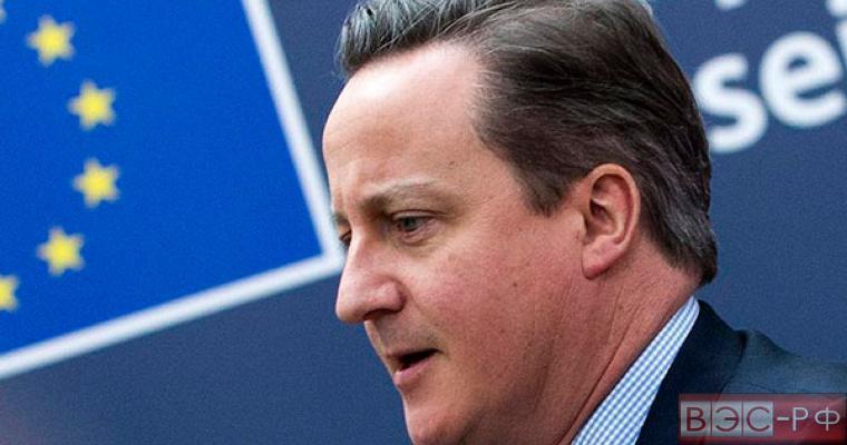 Кэмерон назвал самовредительством возможный выход страны из ЕС