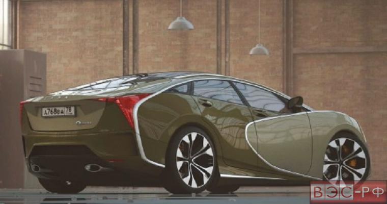 Видео концепта Lada Questa представили в Сети дизайнеры