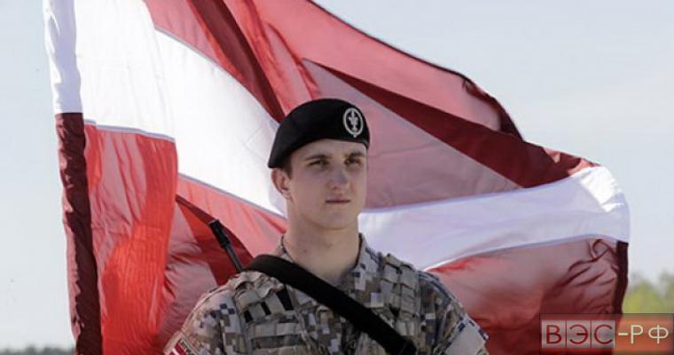 латвийские военные