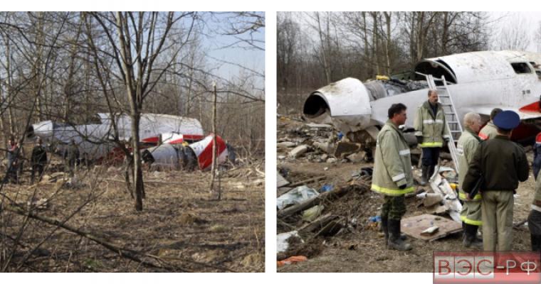 Польские эксперты заявили о записи взрыва на самописце Ту-154 Качиньского