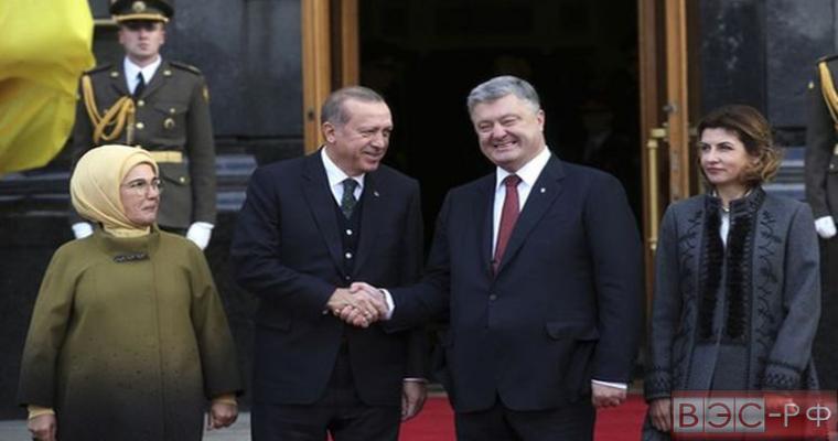 визит президента Турции Эрдогана на Украину