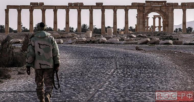 трасса хомс-пальмира