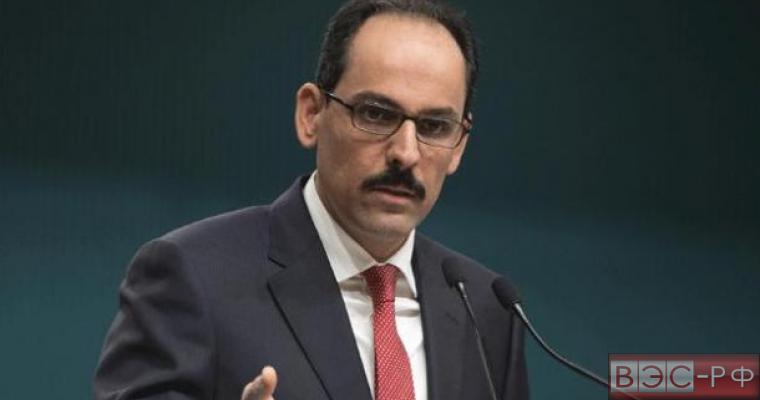 Пресс-секретарь президента Турции призвал Россию восстановить отношения