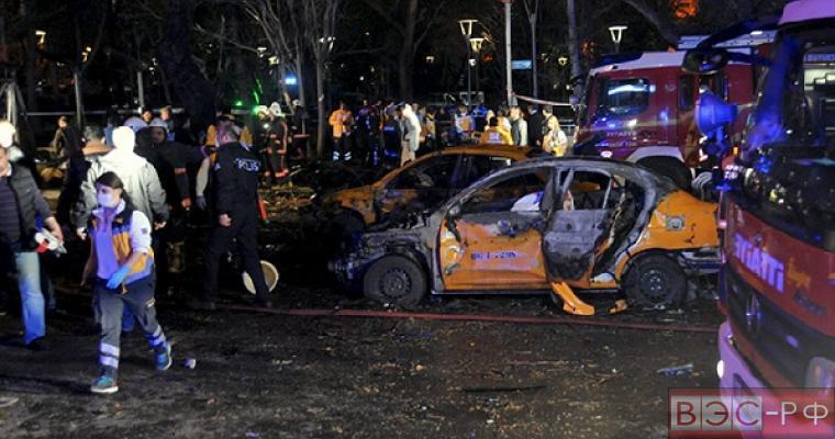 Теракт в центре Турции
