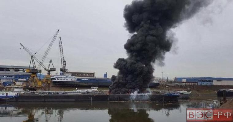 В Германии взорвался танкер