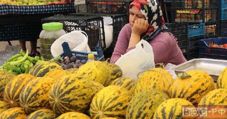 Турецкие овощи и фрукты