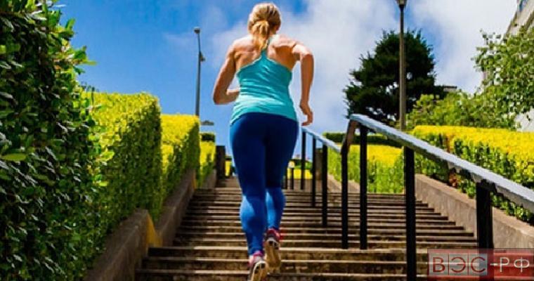 Старение мозга замедляет ходьба по лестнице