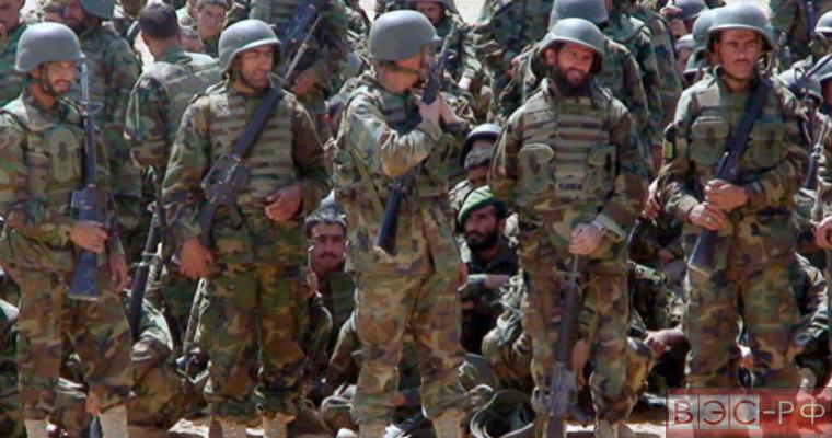 афганские военные силы