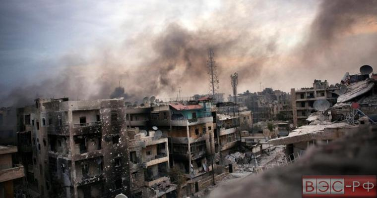 Руины Алеппо, последствия сирийской гражданской войны