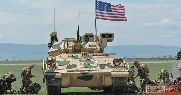 танкисты США в Польше