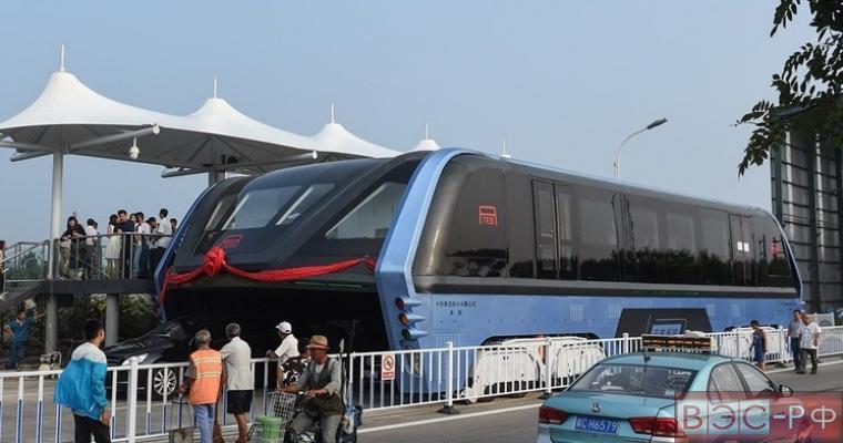 Портальный автобус прошел первые испытания в Китае