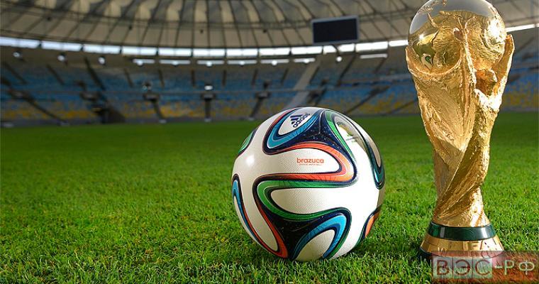 Кубок Чемпионата мира по футболу на поле