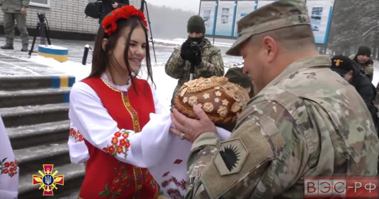 Американская военная делегация в Украине