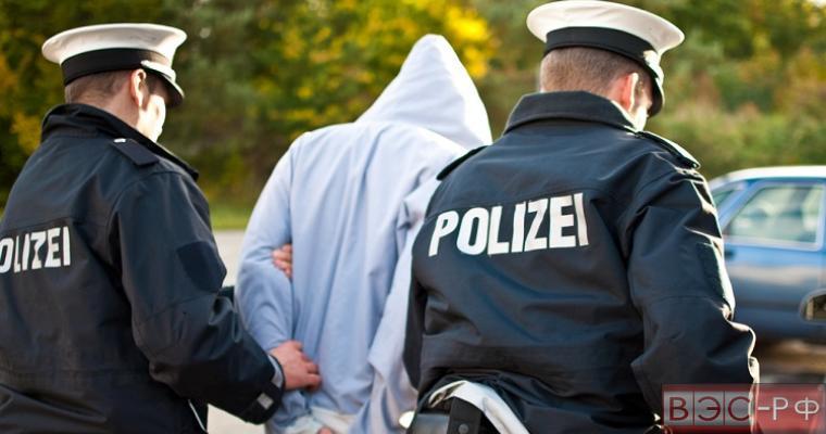 в Германии произошла драка с мигрантами