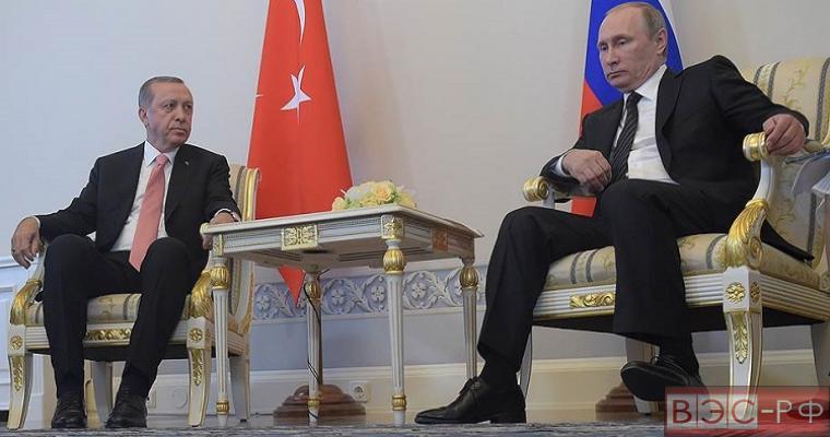 Встреча Эрдогана и Путина