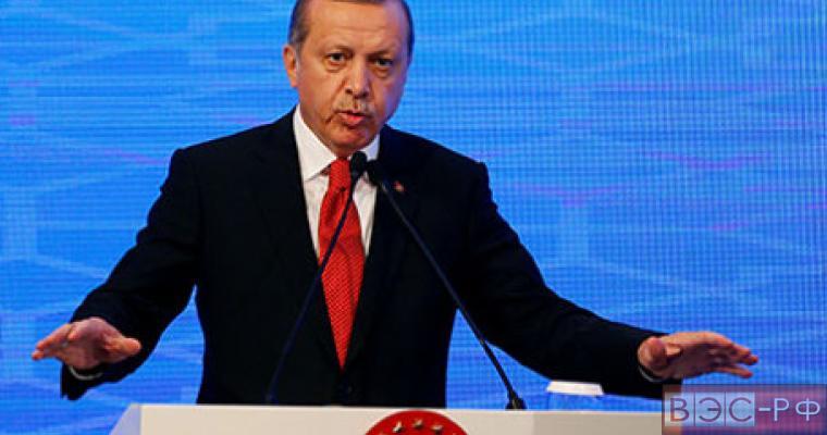 Турецкий президент Эрдоган