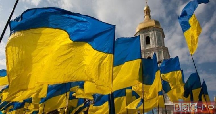 государственный флаг Украны