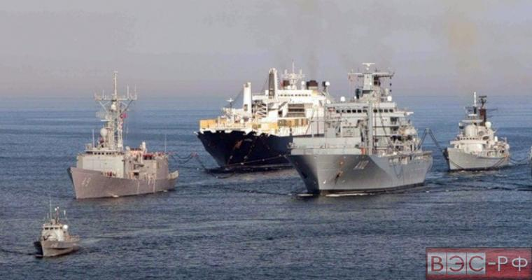 корабли НАТО в Средиземном море