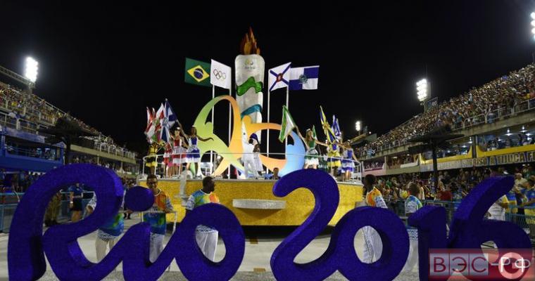 открытие Олимпийских игр в Рио