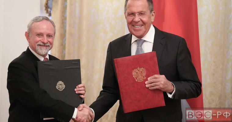 Сергей Лавров и А.Фурнье Фасио