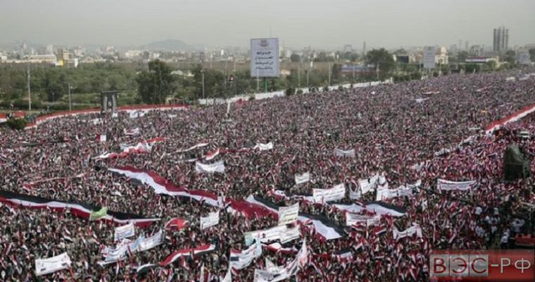 Митинг в Йемене