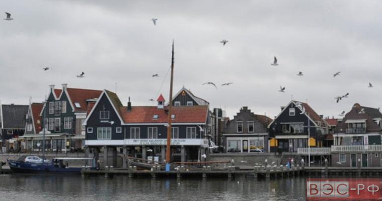 один из городов Нидерландов