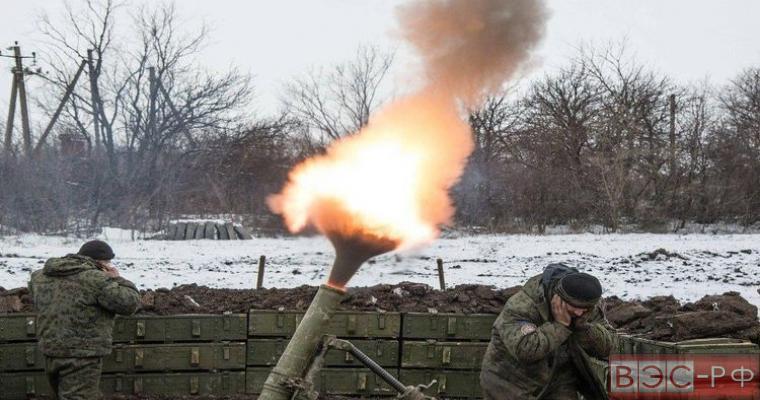 миномётные обстрелы ДНР