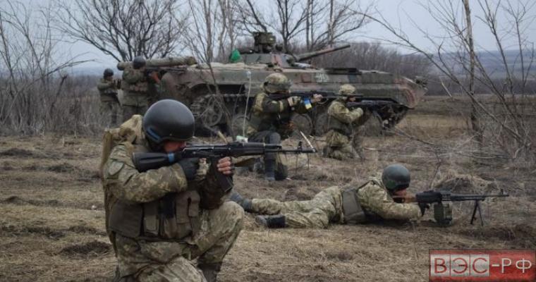 несколько десятков бойцов ВСУ бежали