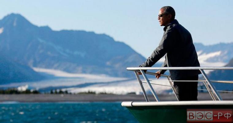 Барак Обама на Аляске