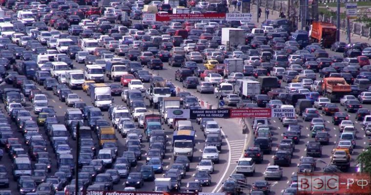 Пробки в Москве сегодня