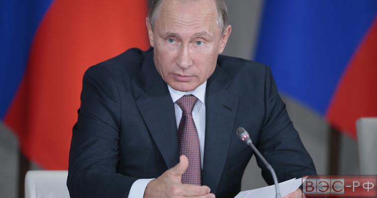 Путин провел заседание Госсовета по вопросам строительства