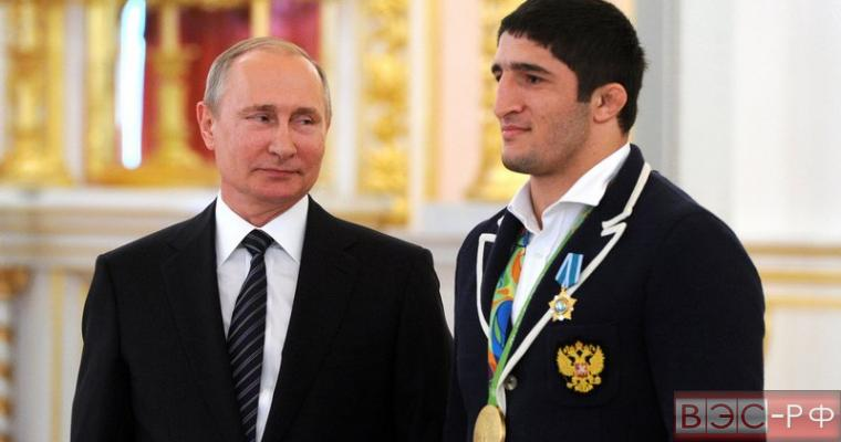 Президент Путин наградил победителей Олимпиады