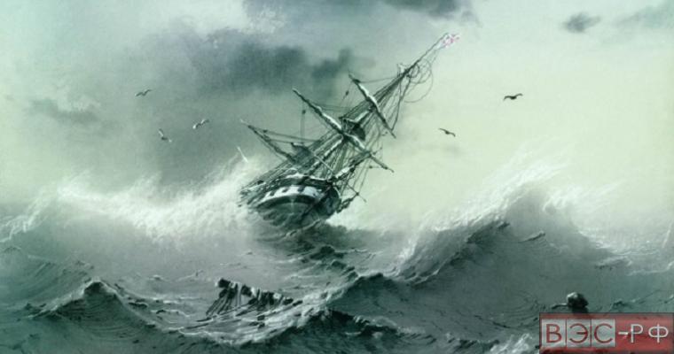 Тонущее судно