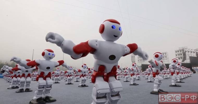 Танцующие роботы Китая