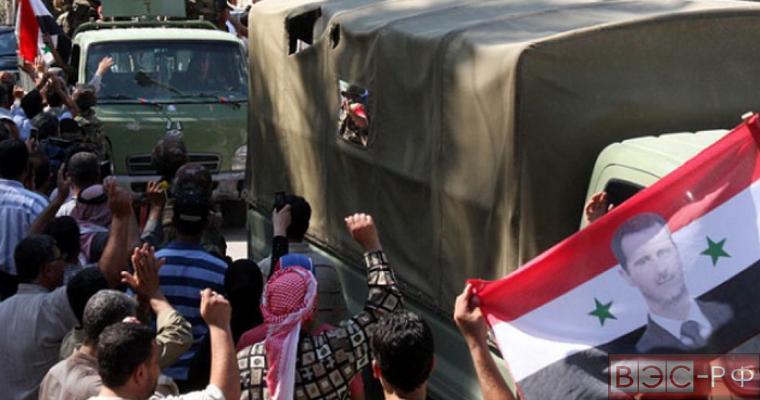 Сирию освобождают от террористов