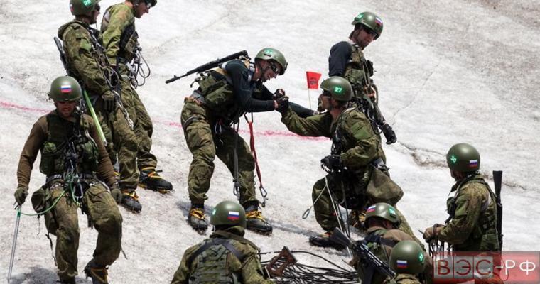 Российский и Пакестанский спецназ