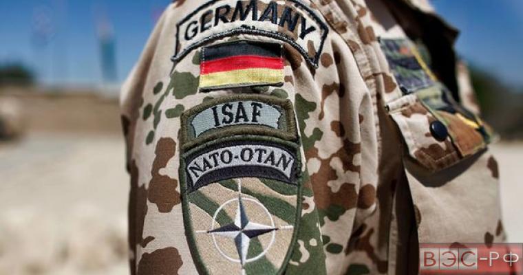 солдат НАТО из Германии