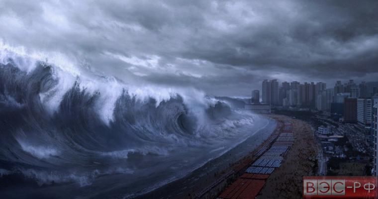 цунами накроет США
