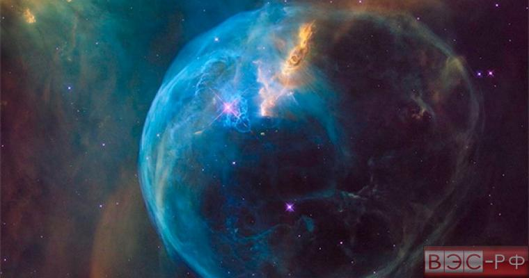 туманность Пузырь показали в НАСА