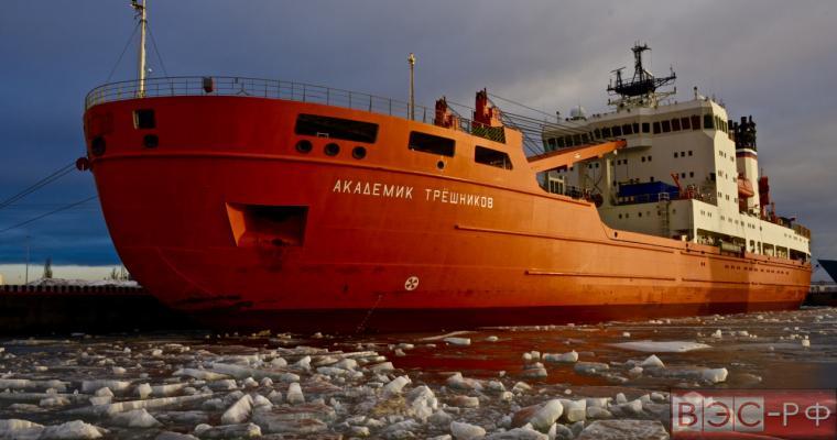 Россия попробует изменить траекторию движения льдов