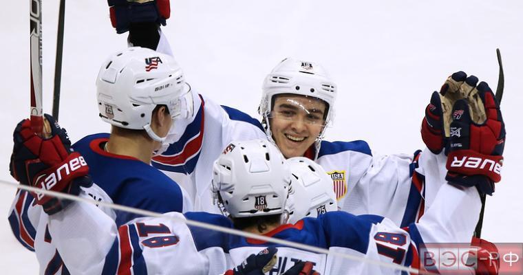 Молодежная сборная России по хоккею разгромила датчан со счётом 4:0