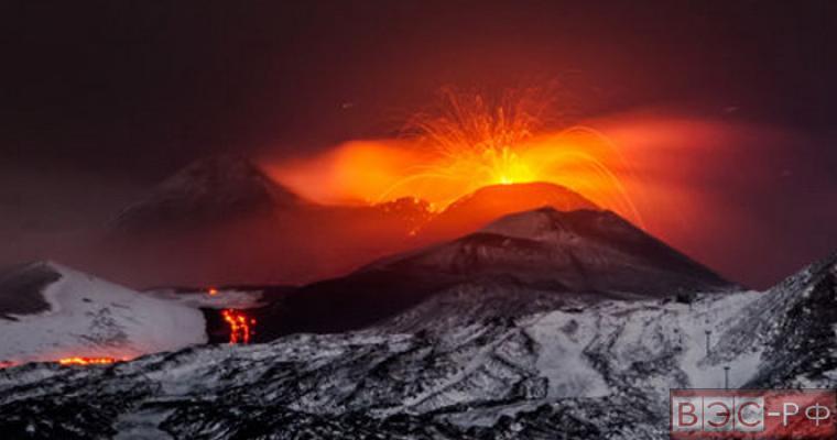 извержение вулкана Этна остановит жизнь в Европе